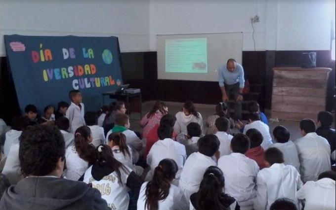 Alumnos de la Escuela N°22 participaron de una capacitación sobre cómo evitar accidentes domésticos