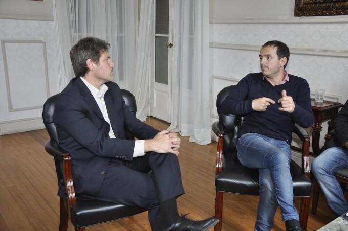 El Intendente se reunió con el diputado provincial Guillermo Castello
