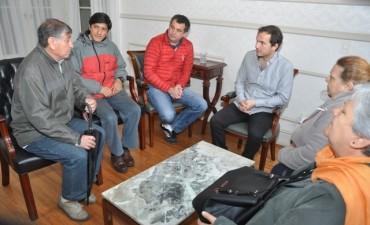 El Intendente se reunió con integrantes de la Capilla San Martín de Porres
