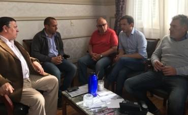 El Intendente se reunió con el nuevo jefe de la DDI