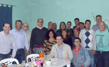 El Intendente se reunió con vecinos del barrio Otamendi