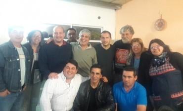 Abella y Roses mantuvieron un encuentro con el Partido FE Campana