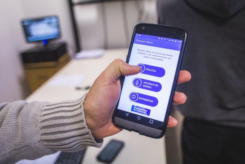 """Ya está disponible la app """"Alerta Campana"""" para denunciar delitos y hechos de violencia de género"""