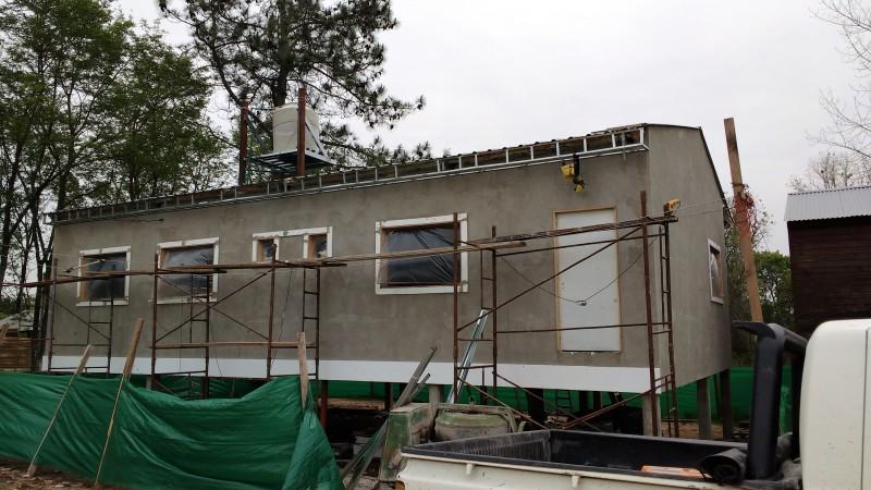 Avanza la construcción del nuevo edificio del CAPS del Blondeau