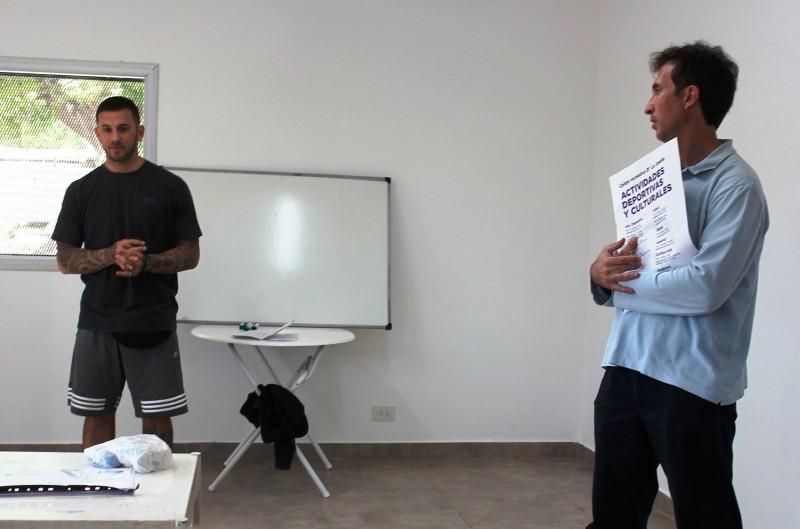 Profesores del Municipio participaron de una jornada sobre fortalecimiento deportivo