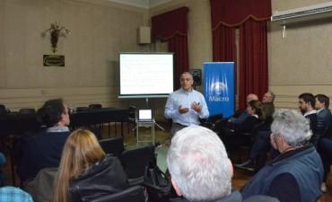 Se realizó una charla sobre el contexto económico y las perspectivas de crecimiento