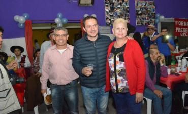 Abella acompañó la Fiesta de Mantilla en el barrio Lubo