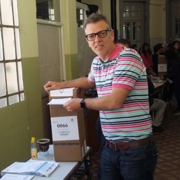 Axel Cantlon: estoy muy conforme con lo realizado en las elecciones generales