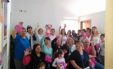 Cáncer de mama: vecinos de barrio 9 de Julio participaron de una charla sobre concientización y prevención