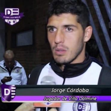 Jorge Còrdoba: estamos muy bien y trabajamos para eso