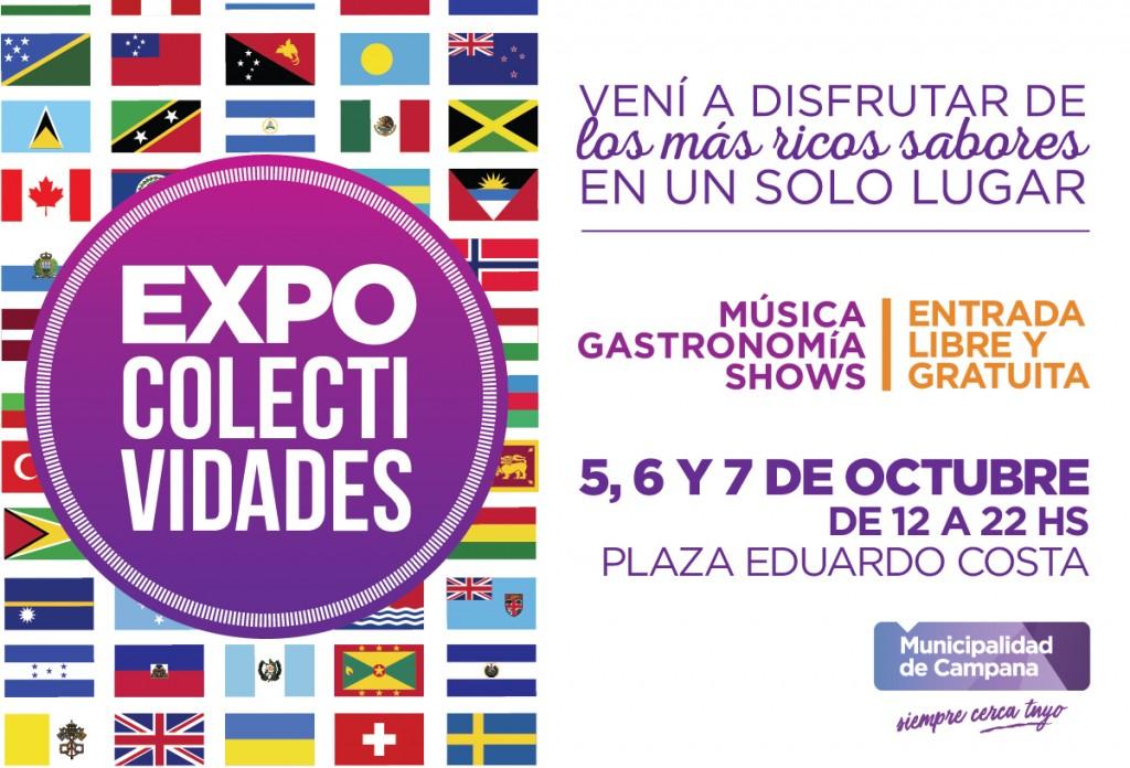 """""""Expo Colectividades"""" vuelve este fin de semana a Campana"""