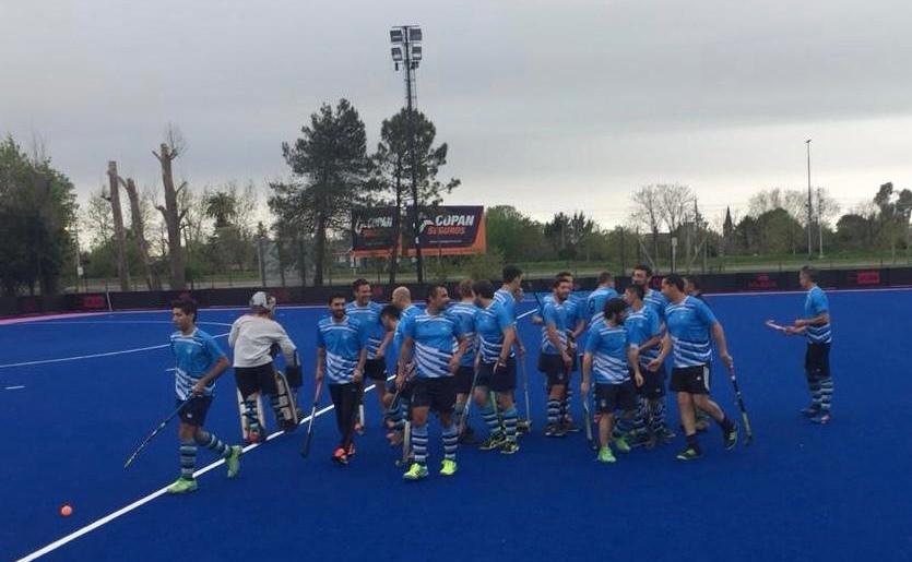 El hockey masculino del Campana Boat Club sigue sumando experiencia