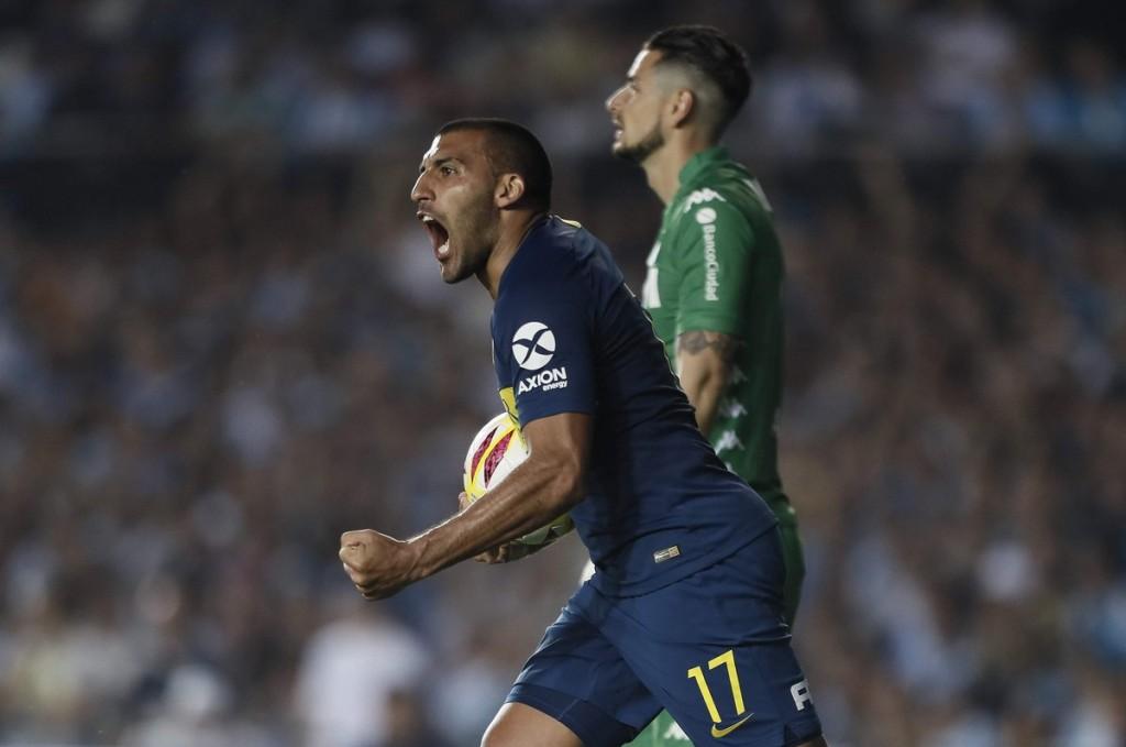 Racing Club de Avellaneda y Boca Juniors empataron 2 a 2