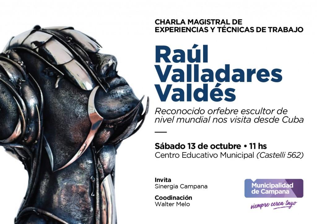 Un artista cubano presentará una clase magistral en el Centro Educativo Municipal