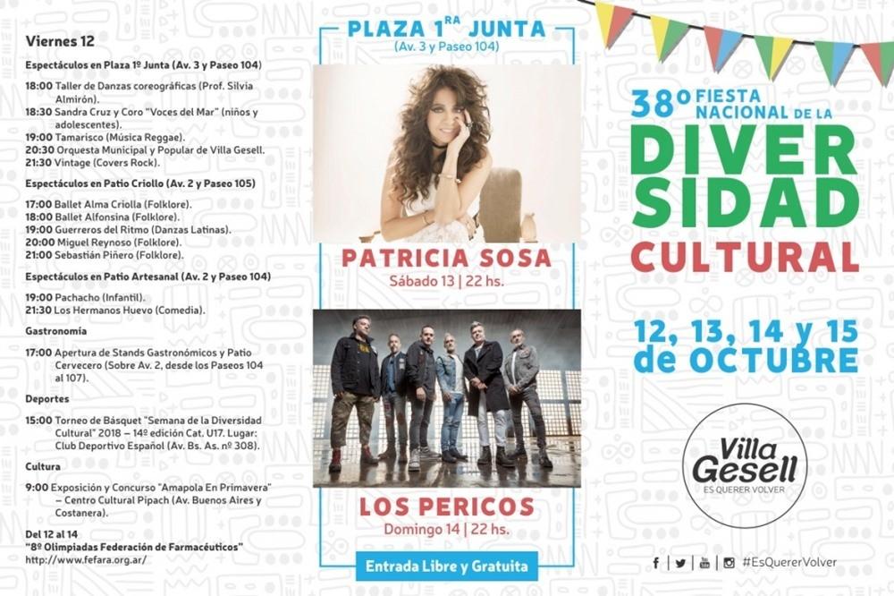 """""""38º Fiesta de la Diversidad Cultural"""""""