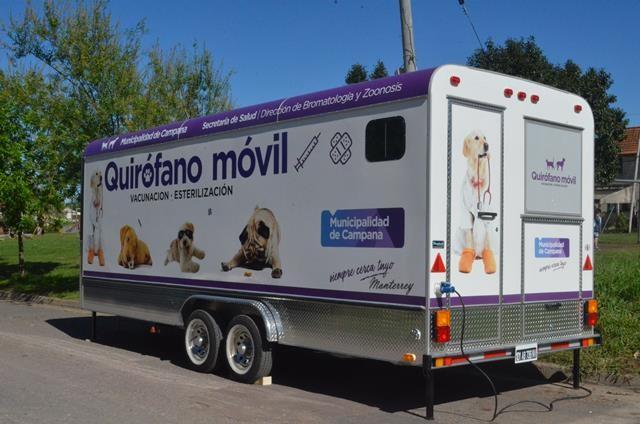 Quirófano móvil: la semana próxima realizará castraciones en Barrios Amigos