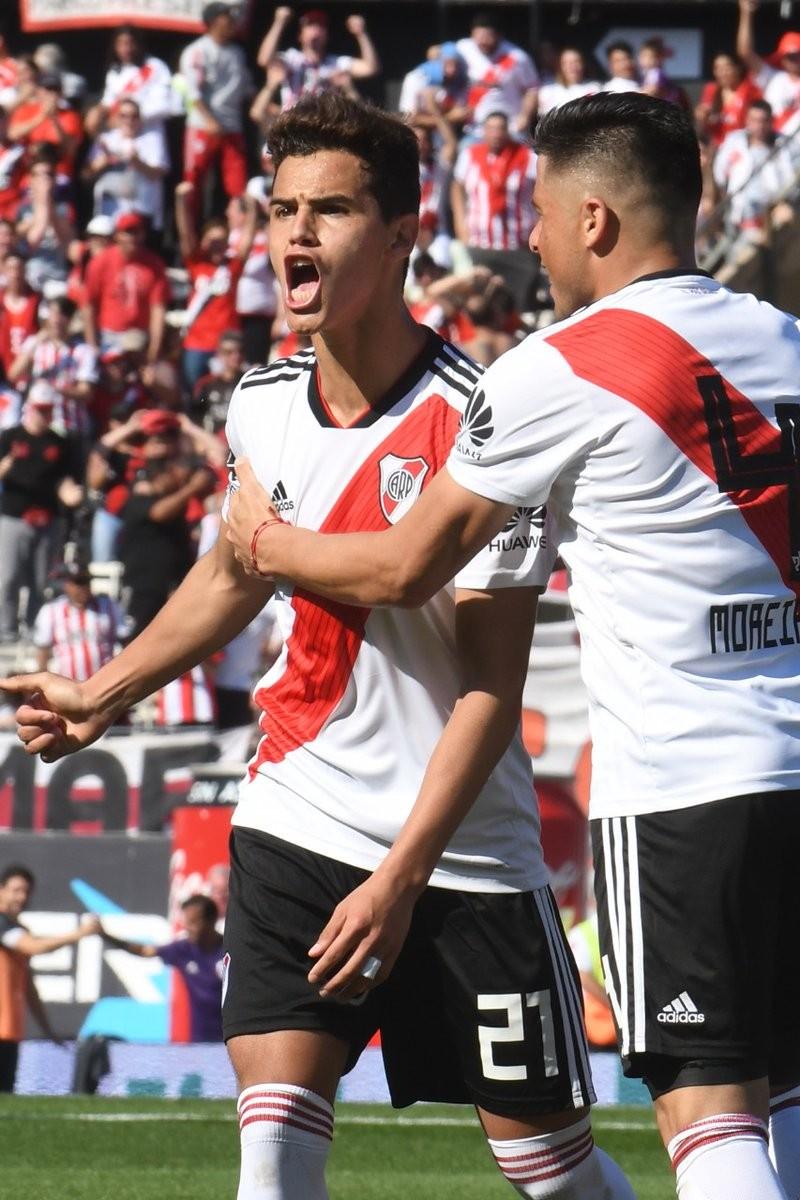 Con gol del juvenil Cristian Ferreira River Plate volvió al triunfo