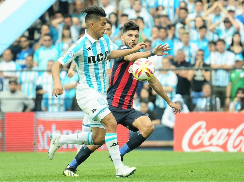 Racing Club dio vuelta el marcador y festejó ante San Lorenzo de Almagro
