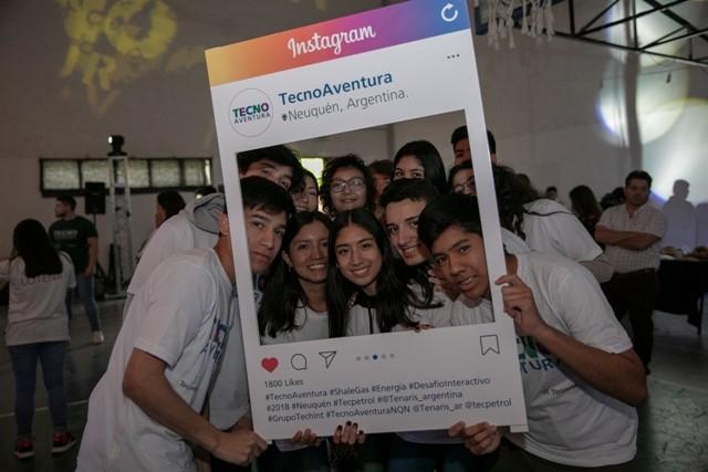 Más de 200 alumnos de escuelas técnicas de Neuquén participaron de Tecno Aventura