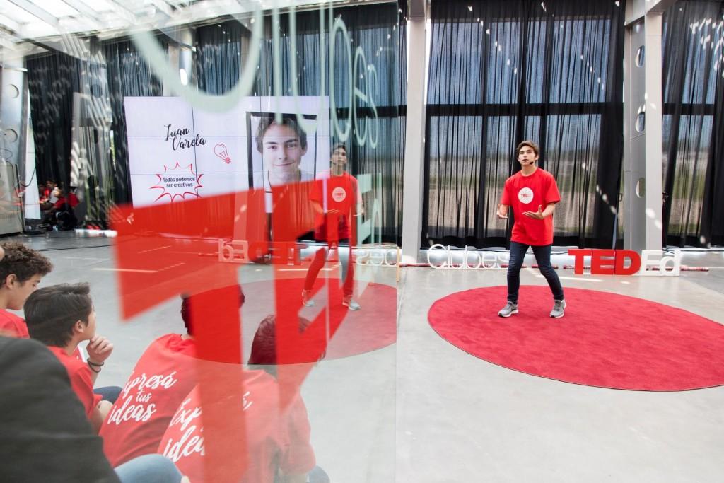 Estudiantes de la Escuela Técnica Roberto Rocca asombraron y conmovieron en un nuevo ciclo de Charlas TED