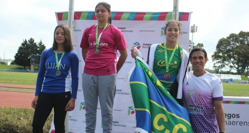 Campana sumó dos medallas en el inicio de los Juegos Bonaerenses