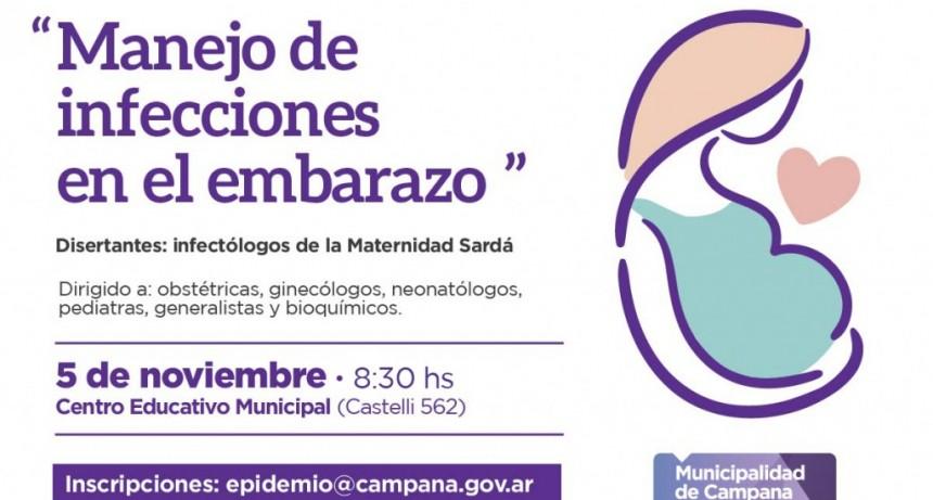 Salud: habrá una capacitación sobre el manejo de infecciones en el embarazo