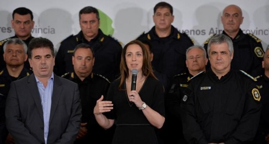MARÍA EUGENIA VIDAL ANUNCIÓ AVANCES EN LA TRANSPARENCIA POLICIAL