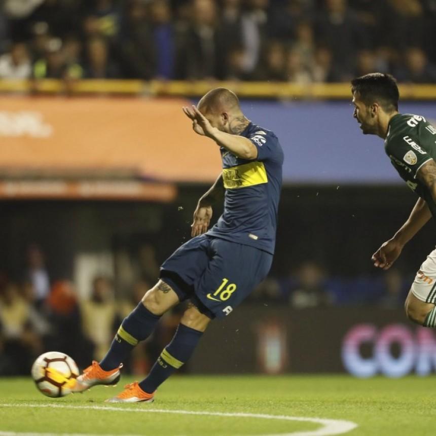 Boca Juniors derrotó a Palmeiras por 2 a 0