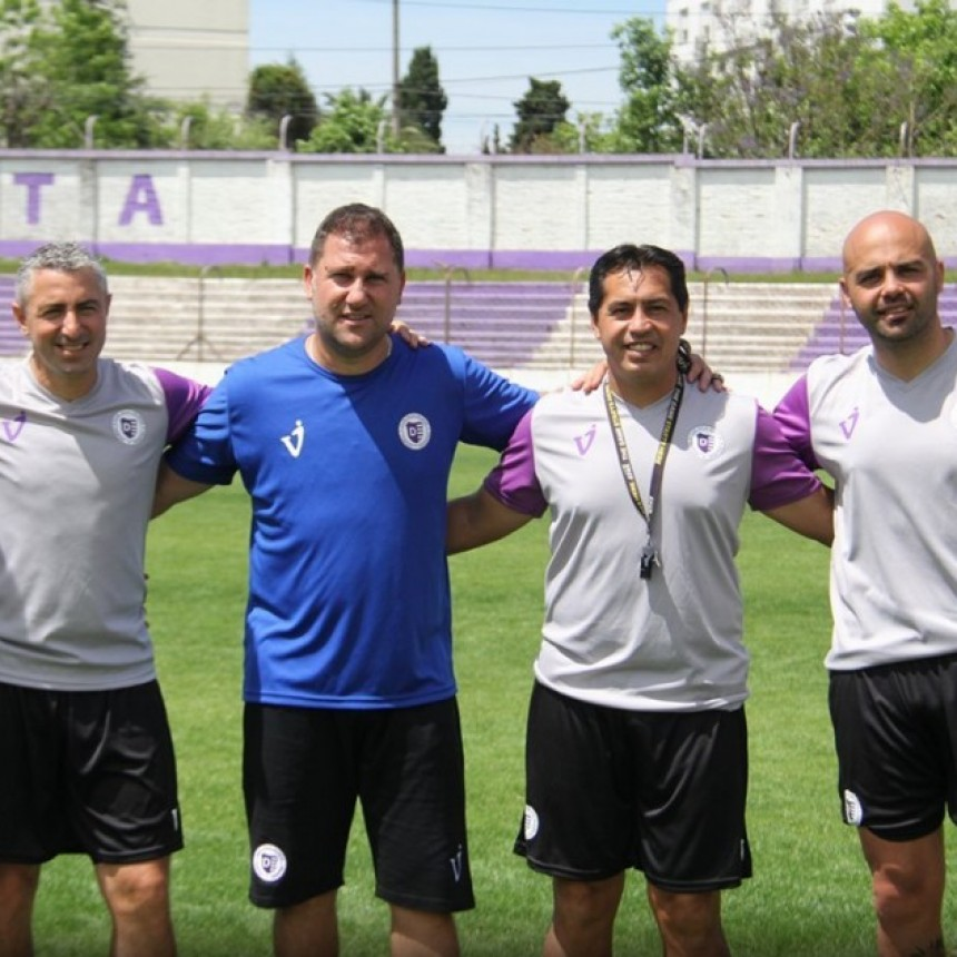 Walter Otta volviò a Villa Dàlmine como entrenador