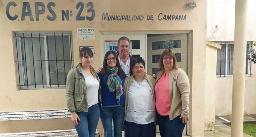 El CAPS de Río Luján continúa mejorando sus servicios médicos