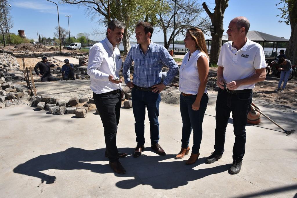 Nueva Costanera: el intendente Abella está concretando una obra histórica