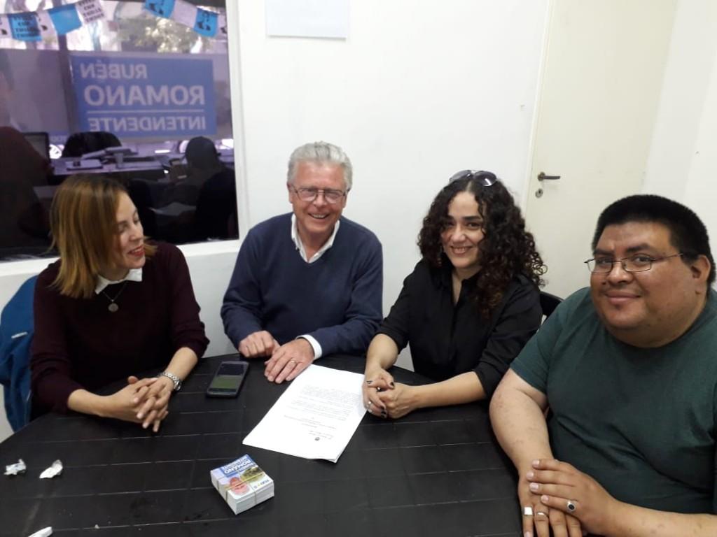 Rubén Romano se reunió con docentes de Escuelas Privadas