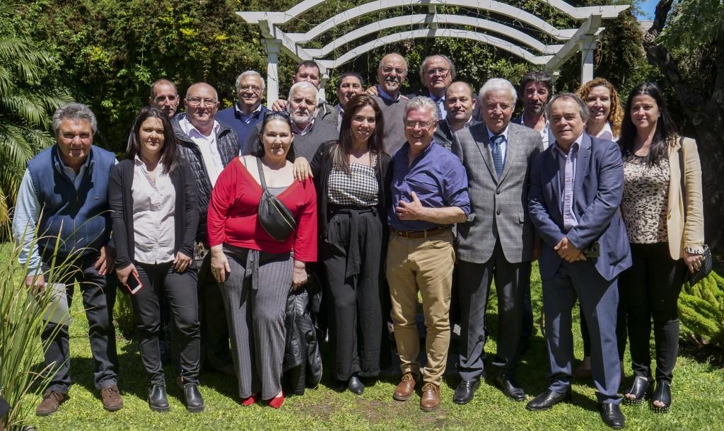 Rubén Romano reunió en Campana a importantes referentes de la producción