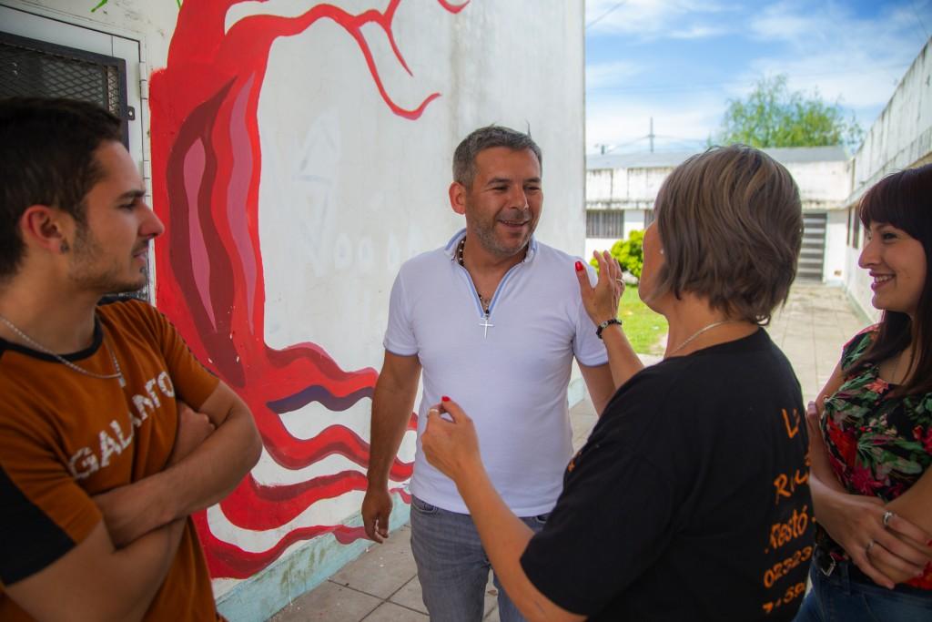 """Contreras: """"Es inadmisible que alguien que vive en Zárate sea candidato a intendente en Campana"""""""