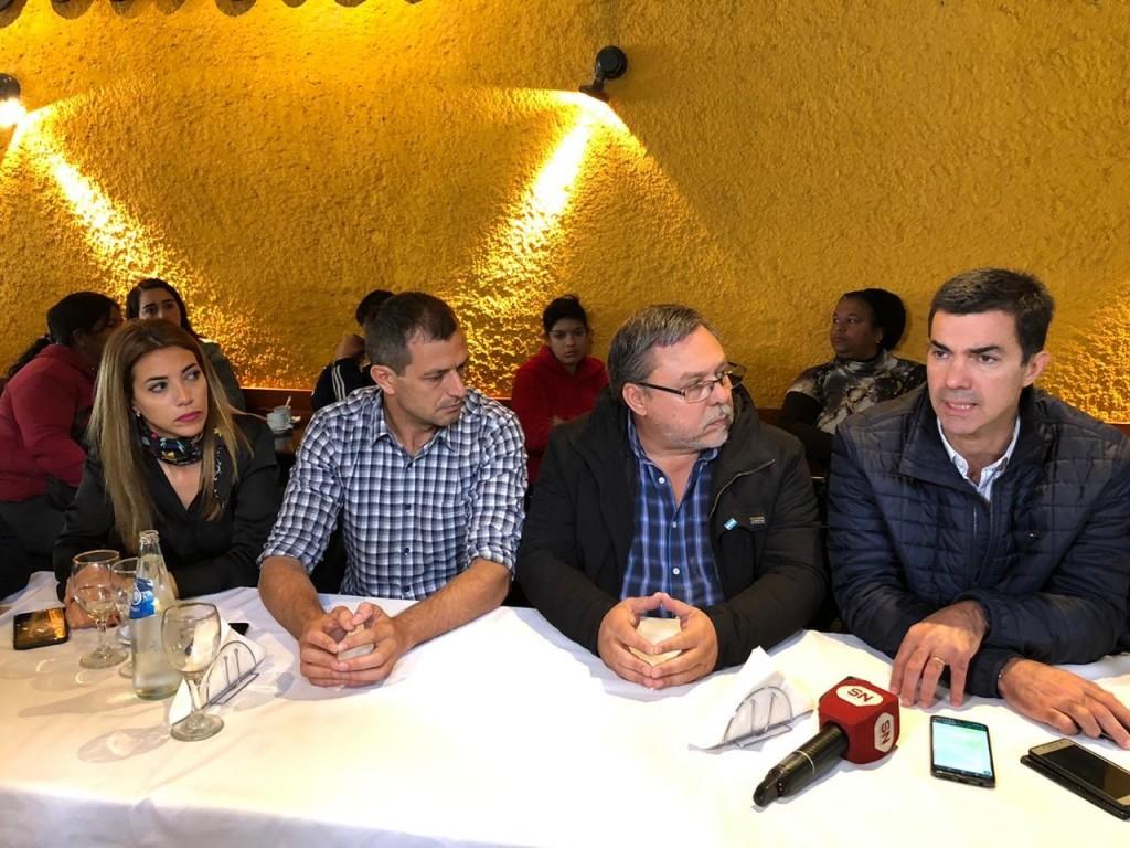"""Urtubey en Chacabuco: """"Desde la pelea y la confrontación permanente no se construye un país"""