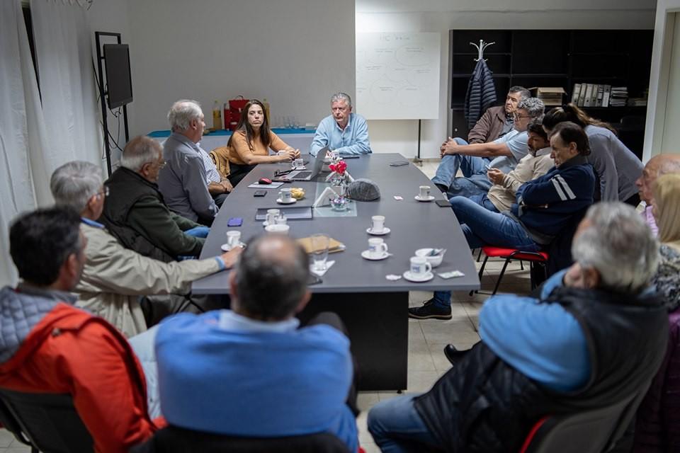 Rubén Romano se reunió con integrantes de la Unión Industrial de Campana