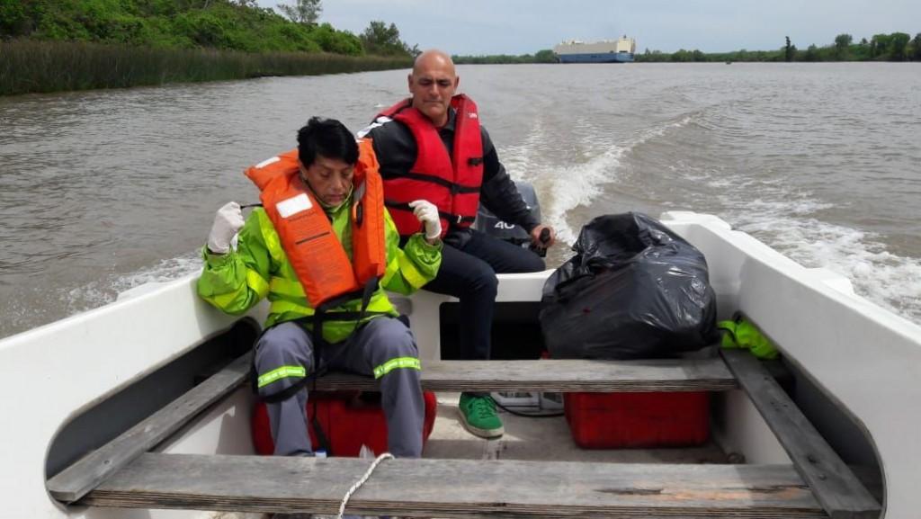 Defensa Civil y SAME brindaron asistencia a una mujer en la isla