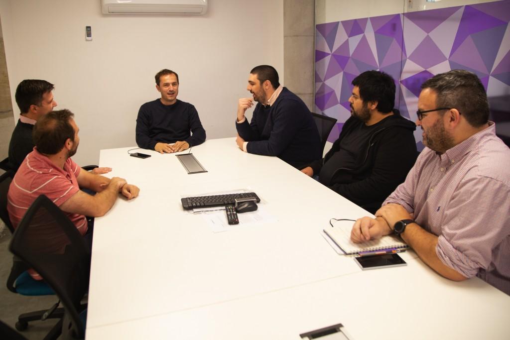 Abella se reunió con integrantes de la Cámara Jóvenes Empresarios