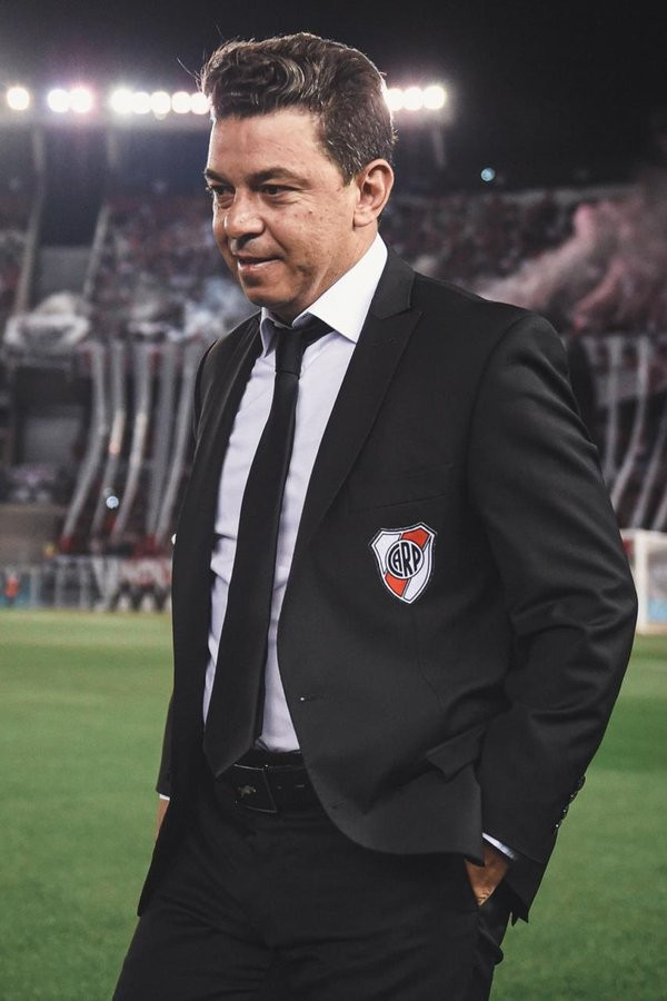 Marcelo Gallardo: Estamos en presencia de un equipo que juega muy bien