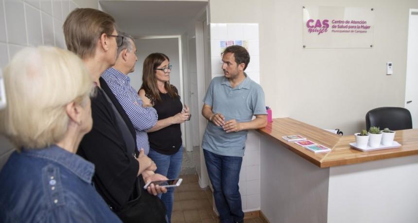 El Intendente inauguró el primer centro de salud municipal para mujeres