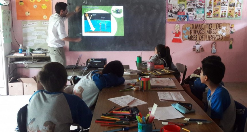 El Programa de Educación Ambiental del CICACZ  llegó a la isla