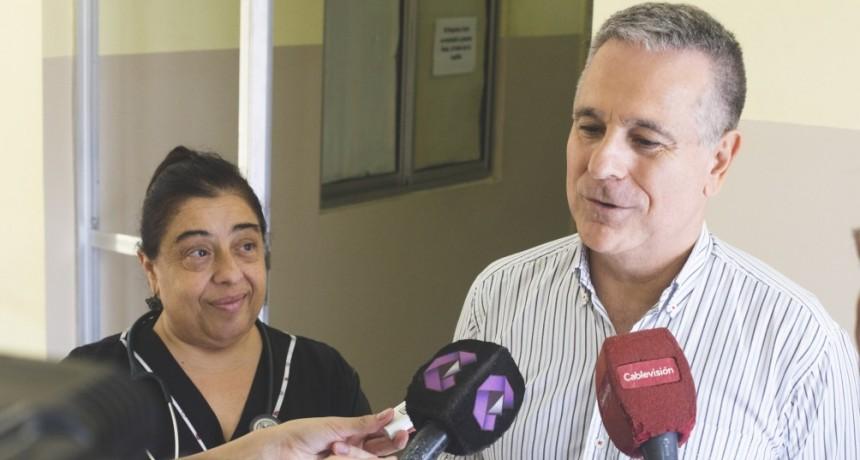 """Meiraldi: """"Hoy todos los vecinos eligen el Hospital San José por su calidad y atención"""""""