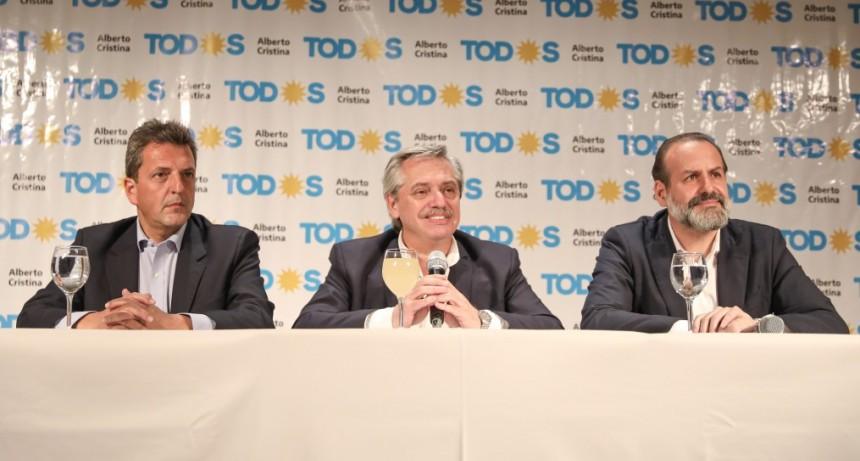 Alberto Fernández:  No sé que va a dejar Macri pero estaría bueno que colabore para no hacer todo más difícil