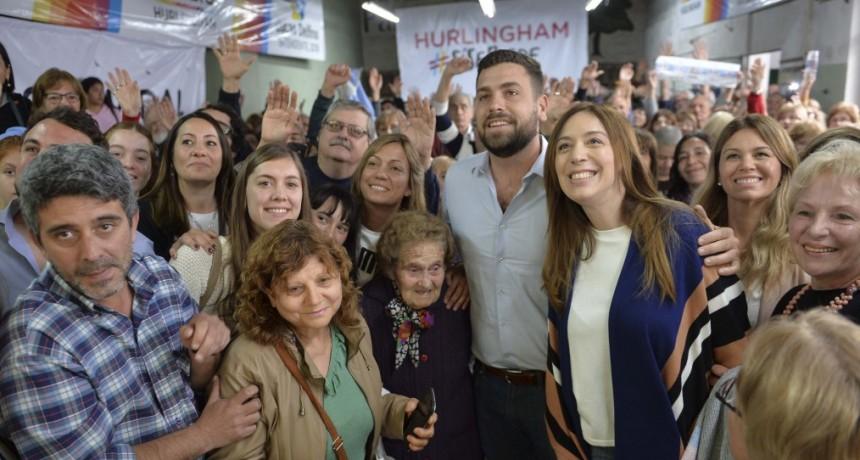 VIDAL VISITÓ LAS LOCALIDADES DE HURLINGHAM, CAÑUELAS Y SAN MIGUEL DEL MONTE
