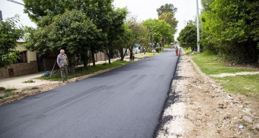El plan de asfalto no se detiene y ahora avanza por San Felipe