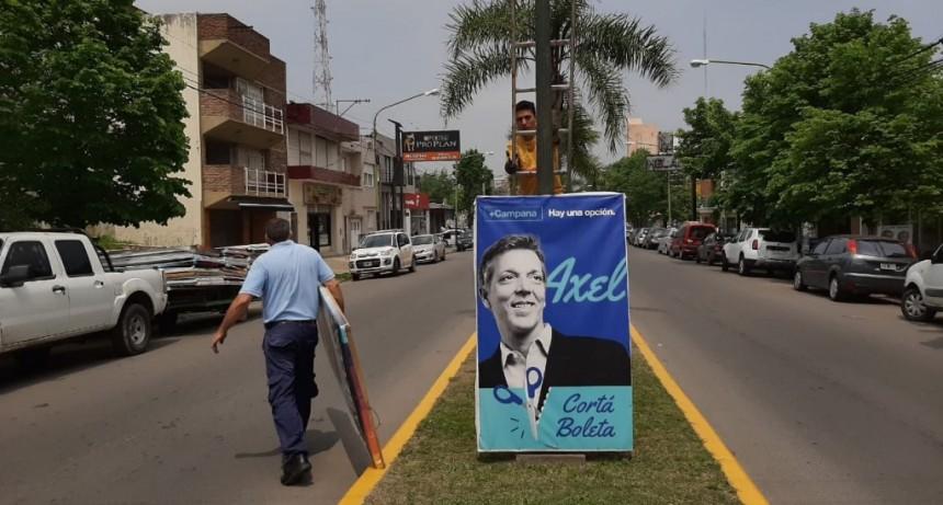 Desde Juntos por el Cambio comenzaron a retirar la cartelería electoral