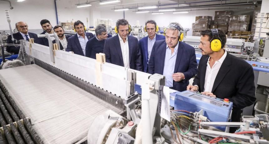 Reapertura de la fábrica Kabrilex   Alberto Fernández: