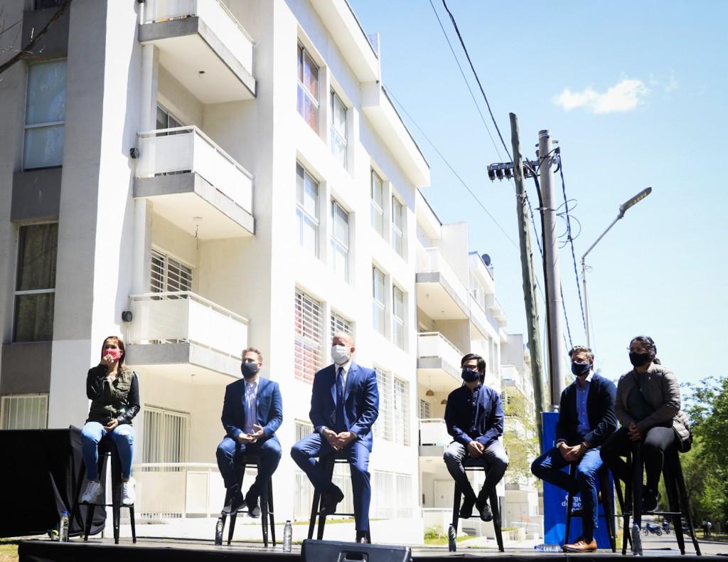 Kicillof participó de la entrega de viviendas Procrear junto al presidente Alberto Fernández