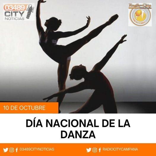 10 de Octubre : Dia Nacional de la Danza