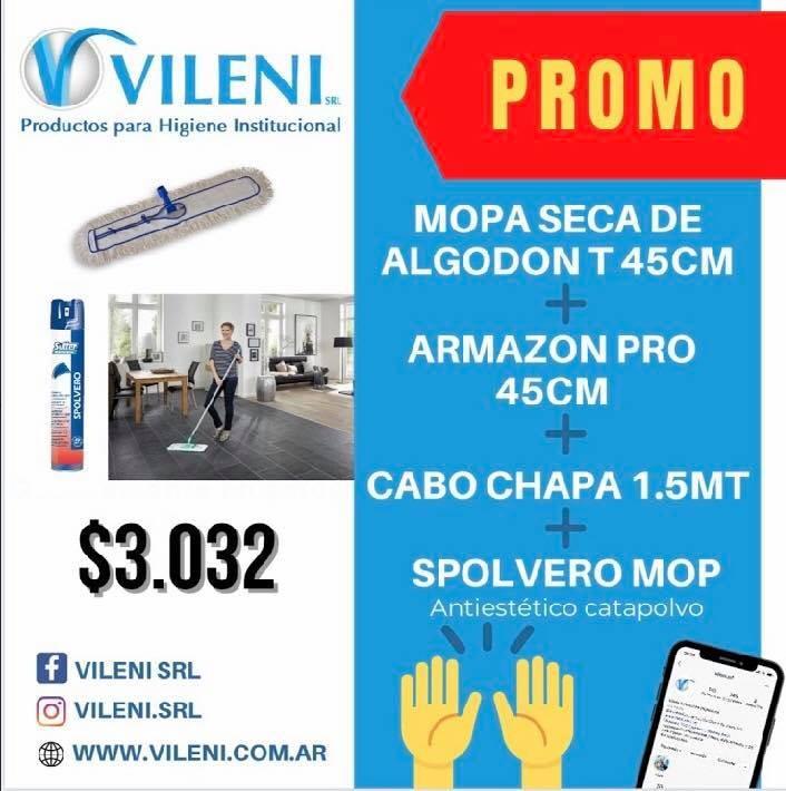 Vileni S.R.L con importantes promociones renovadas